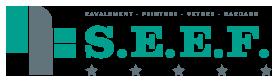 S.E.E.F. Peinture – Ravalement Logo